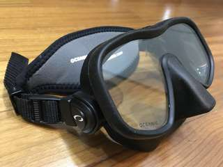 Oceanic Shadow Mask - Only Used For 3 Dive Trips!