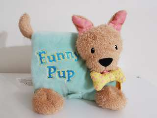 Funny Pup Soft Book