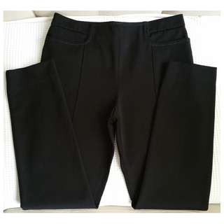 HERMES Black Pants