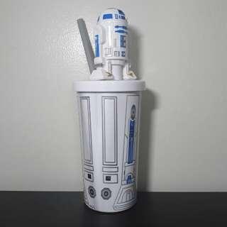 Star Wars R2D2 Tumbler w/ Straw