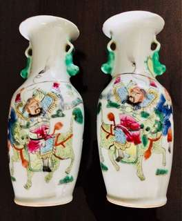 A pair of antique vase