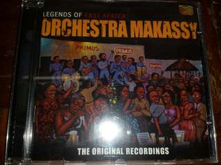 Music CD: Orchestra Makassy ‎–Legends of East Africa