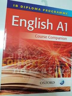 International Baccalaureate Diploma Guidebook: English A1 Course Companion