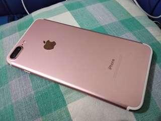 Iphone 7 plus 32 rosegold