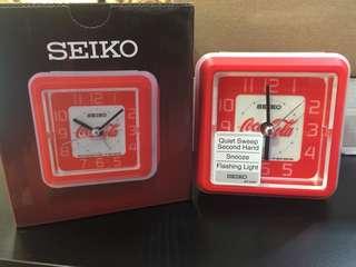 Seiko x Coca Cola Alarm Clock QHE906