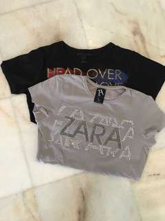 Bundle Zara and Mango shirt