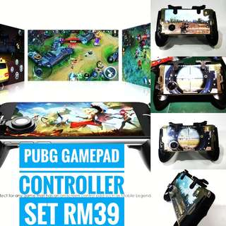 PUBG/ROS/MOBILE LEGEND GAMEPAD SET MOVING CONTROLLER WITH TRIGGER L1R1