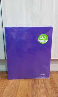 MPH Purple 3-Ring Binder File
