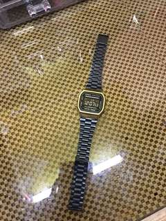 Casio Black & Gold Watch (oem)