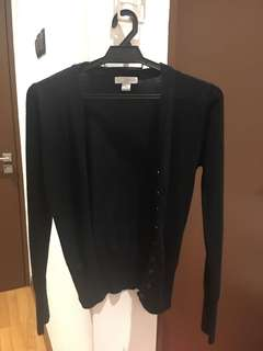 Black Cardigan from Cotton on