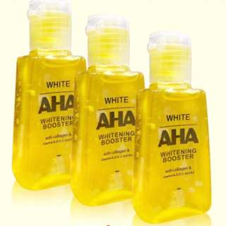 Aha Soap/Serum/Cream