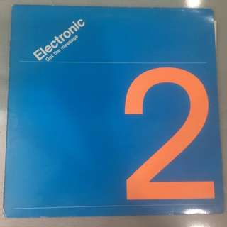 "Electronic ‎– Get The Message, 12"" Single Vinyl, Factory ‎– Fac287, 1991, UK"