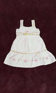 Smile Rabbit Baby Dress