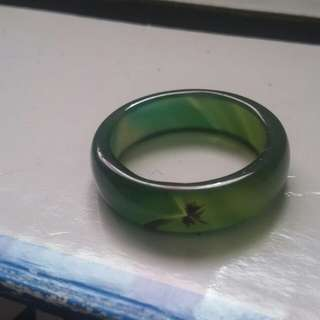 Jade ring dragon inside