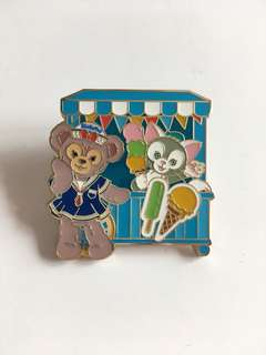 Duffy and friends pins 迪士尼襟章