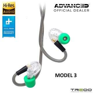 ADVANCED Model 3 Wireless Bluetooth In-Ear Earphone with In-Line Microphone