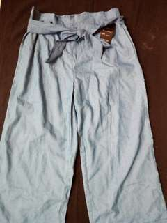 Soft denim square pants