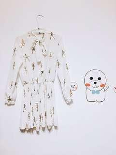 🚚 韓版雪紡洋裝👗