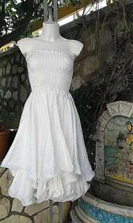 Handmade white dress/skirt. 100% Made in Italy 🇮🇹