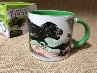 Heat changing Dino mug