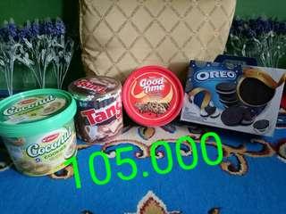 Paket makanan 105.000