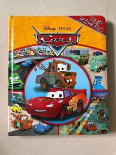 Disney Cars Book - Look and Find