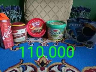 Paket makanan 110.000