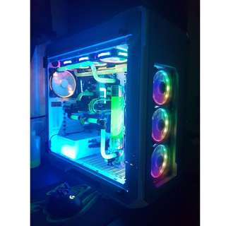Intel Core i7  7700K WaterCooling Gaming Rig