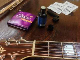 Guitar Maintenance/Set-up service .