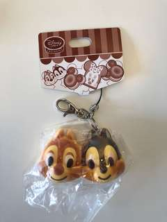 Vintage chip and dale bread squishy