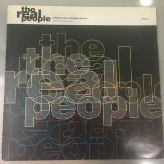 "Real People ‎– Window Pane (Extended Version), 12"" EP Vinyl, CBS ‎– 656387 6, 1990, UK"