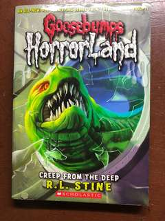Goosbumps: HorrorLand by R. L. Stine