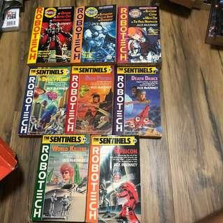 Robotech novels