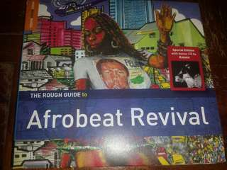 Music CD: Various–The Rough Guide To Afrobeat Revival