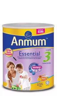 Anmum essential Step 3(1year++) 1.6kg Honey flavor