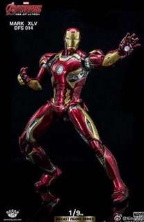 KING ARTS DFS014 1/9 AVENGERS2 AGE OF ULTRON IRON MAN MARK45 COLLCETION FIGURE Price: 14,575