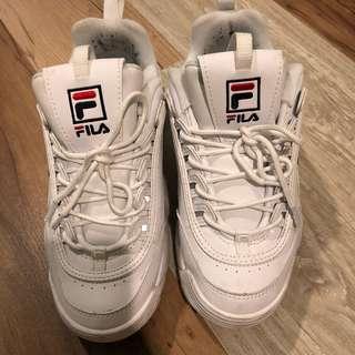 韓國購入fila鞋