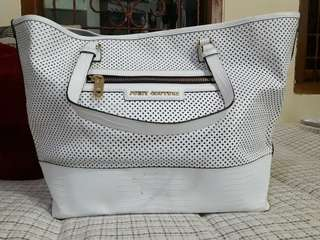 Juicy couture perforated bag