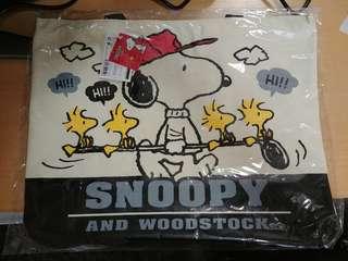 (全新) Snoopy 日版袋 No.1 (有拉鍊)