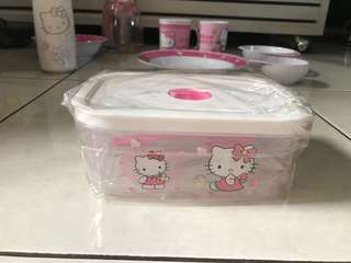 Lunch box hellokitty