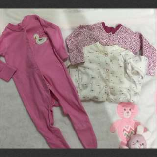 Mothercare 3 pices jumpsuit