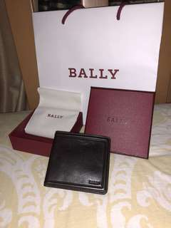 For sale brand new Bally of Switzerland Bi-fold wallet