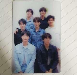 BTS BANGTAN GROUP SPECIAL TEAR PHOTOCARD PHOTO CARD KPOP ALBUM LOVE YOURSELF