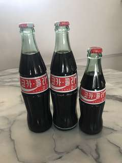 Korean Coke Bottles