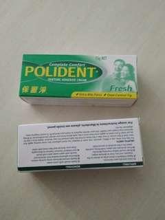 Polident adhesive