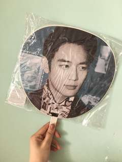 SHINee 珉豪 Minho Why so Serious 絕版扇子