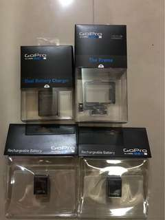 GoPro hero 3 Original Accessories bundle