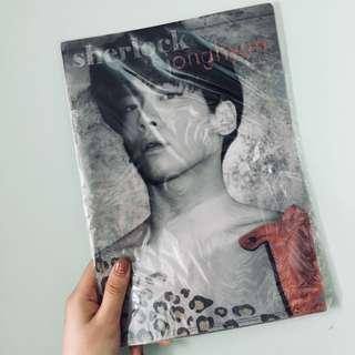 SHINee 鐘鉉 JongHyun Sherlock A4 folder