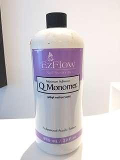 EZflow QMonomer 32oz /946ML Large Bottle BrandNew