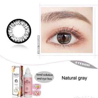Contact lens  P199 black , gray ,brown